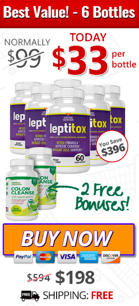 Leptitox  Deals Buy One Get One Free August 2020